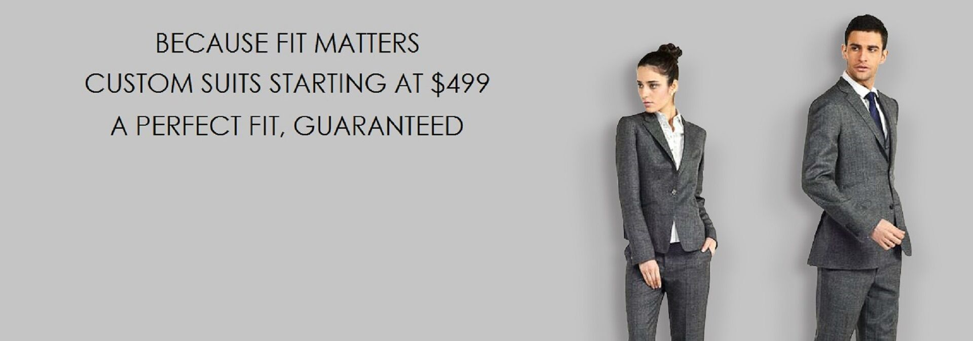 Stylish Custom Fitted Formal Suits for Men & Women