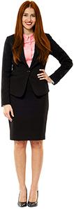 Premium Fabrics - custom women's suits