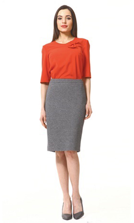 Womens made to measure interview skirts
