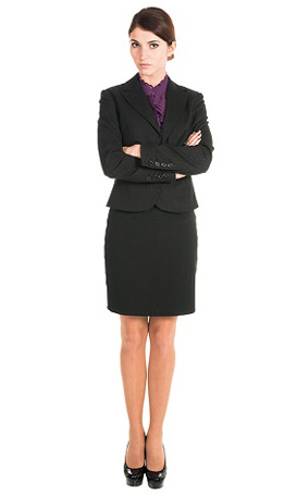 customized office jackets for women