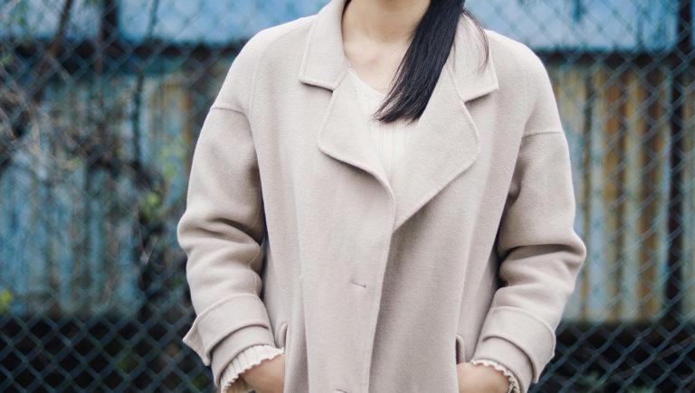 light brown overcoat