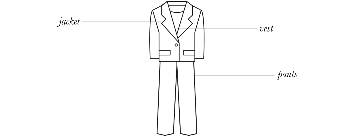 suit graphic